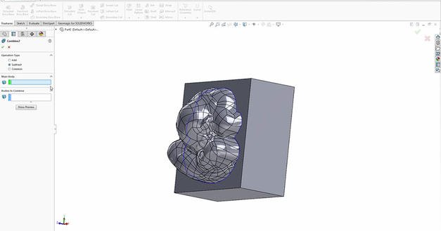 mold-block-surfaces-solidworks-geomagic